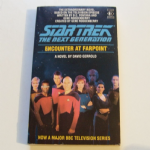 Star Trek THE next generation Encounter at Farpoint paperback book by David Gerrold